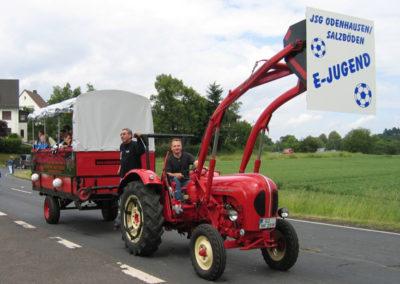 Festumzug zur 750 Jahrfeier von Odenhausen