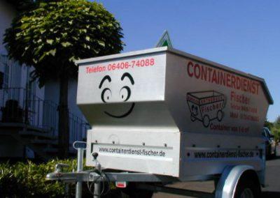 Unser Minicontainer - leider nur zu Werbezwecken